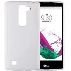 Silikon etui za LG G4C, Bela barva