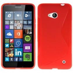 Silikon etui S za Microsoft Lumia 640 LTE, Rdeča barva
