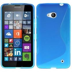 Silikon etui S za Microsoft Lumia 640 LTE, Modra barva