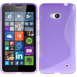 Silikon etui S za Microsoft Lumia 640 LTE, Vijola barva