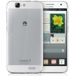 Silikonski etui za Huawei Ascend G7, debelina 0,3mm, Prozorna barva