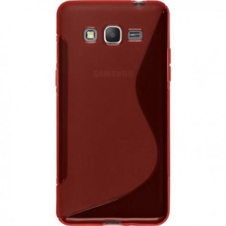 Silikon etui S za Samsung Galaxy Grand Prime, Rdeča barva
