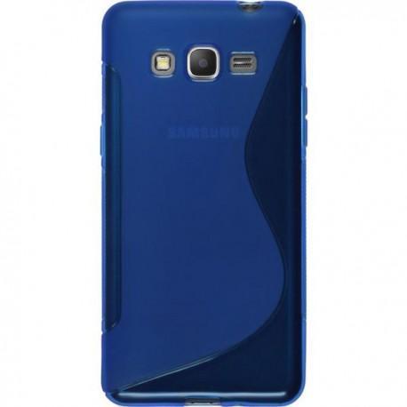 Silikon etui S za Samsung Galaxy Grand Prime, Modra barva