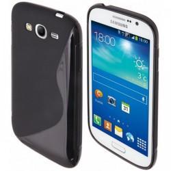Silikon etui za Samsung Galaxy Grand Neo Duos, Črna barva