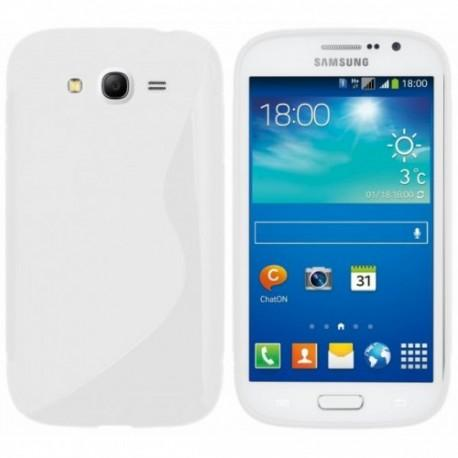 Silikon etui za Samsung Galaxy Grand Neo Duos, Bela barva