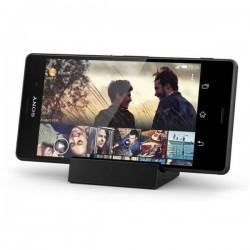 Namizni magnetni polnilec za Sony Xperia Z3 in Z3 Compact, črne barve
