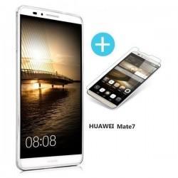 Silikon etui za Huawei Ascend Mate 7 +Zaščitno steklo zaslona