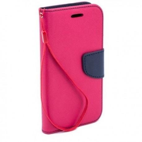 Preklopna Torbica Fancy za Samsung Galaxy Grand Prime, Pink barva