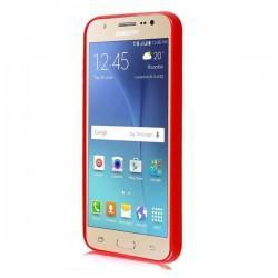 Silikon etui za Samsung Galaxy J5, 0,5mm, Rdeča barva