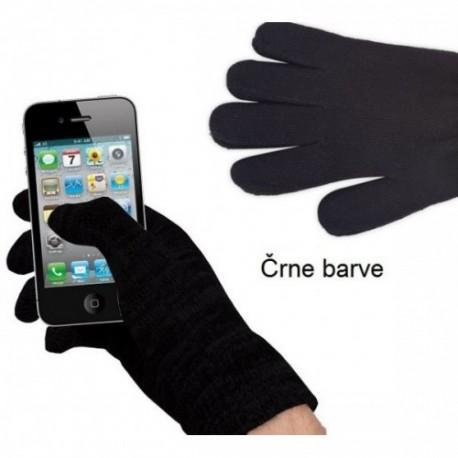 Rokavice za Zaslone na dotik, črna barva