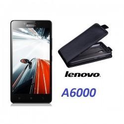 "Preklopna Torbica ""flexi"" za Lenovo A6000, Črna barva"