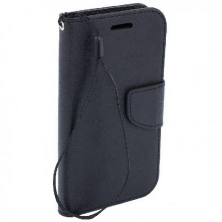 Preklopna Torbica Fancy za Samsung Galaxy Grand Neo Plus, Črna barva