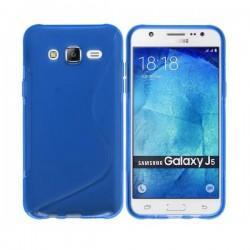 Silikon etui S za Samsung Galaxy J5, Temno modra barva