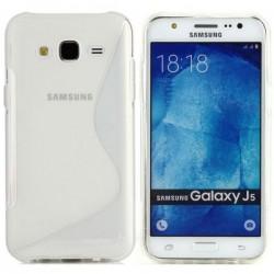 Silikon etui S za Samsung Galaxy J5, Transparent barva