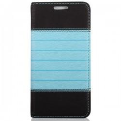 "Torbica ""stripes"" za Samsung Galaxy J5, Črno modra barva"