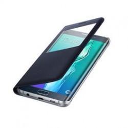 "Preklopna torbica ""window"" za Samsung Galaxy S6 Edge Plus, Črna barva"