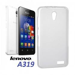 Silikonski etui za Lenovo A319, debeline 0,3mm, Prozorna barva +folija zaslona