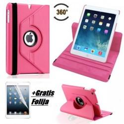 Torbica za Apple iPad Air, Vrtljiva, Pink barva +Gratis folija