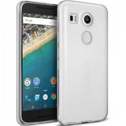 Silikonski etui za LG Nexus 5X, debeline 0,3mm, Prozorna barva