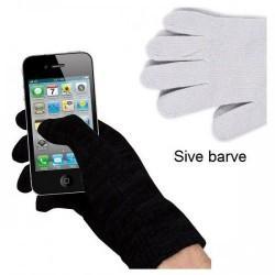 Rokavice za Zaslone na dotik,  siva barva