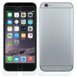 Zaščitno kaljeno steklo za Apple iPhone 6/6S Trdota 9H 0,3 mm Front+Back