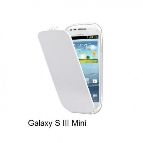 Preklopna torbica za Samsung Galaxy S3 Mini, Bela barva