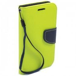 Preklopna Torbica Fancy za Huawei Y5, Zelena barva