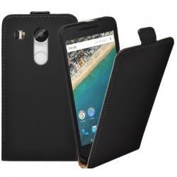 "Preklopna Torbica ""flexi"" za LG Nexus 5X, Črna barva"