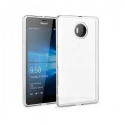 Silikonski etui za Microsoft Lumia 950, debeline 0,3mm, Prozorna barva