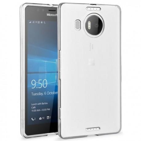 Silikonski etui za Microsoft Lumia 950 XL, debeline 0,3mm, Prozorna barva
