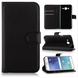 Preklopna torbica za Samsung Galaxy J5, črna barva