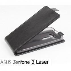 """Preklopna Torbica """"flexi"""" za Asus Zenfone 2 Laser ZE500, Črna barva"""