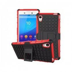 Etui Dual Armor za Sony Xperia M4 Aqua, Rdeče-črna barva