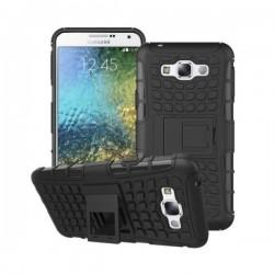 Etui Dual Armor za Samsung Galaxy J5, Črna barva