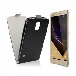 "Preklopna Torbica ""flexi"" za Huawei Honor 7, Črna barva"