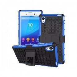 Etui Dual Armor za Sony Xperia M4 Aqua, Modro-črna barva