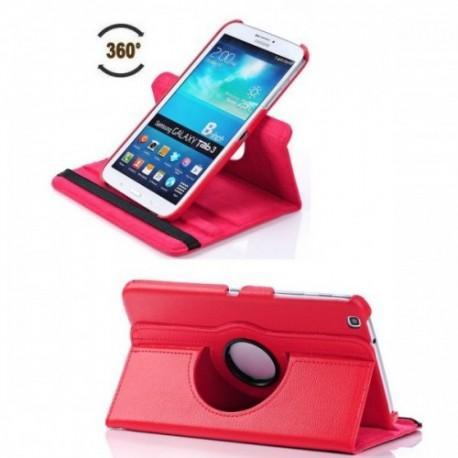 Torbica za Samsung Galaxy TAB 3 8.0 (T310,T311,T315) Vrtljiva 360 Book Cover , Rdeča barva