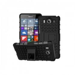 Etui Dual Armor za Microsoft Lumia 950, Črna barva