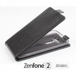 "Preklopna Torbica ""flexi"" za Asus Zenfone 2 ZE500CL, Črna barva"