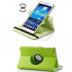 Torbica za Samsung Galaxy TAB 3 8.0 (T310,T311,T315) Vrtljiva 360 Book Cover , Zelena barva