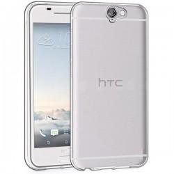 Silikonski etui za Htc One A9, debeline 0,3mm, Prozorna barva