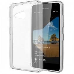 Silikonski etui za Microsoft Lumia 550, debeline 0,3mm, Prozorna barva
