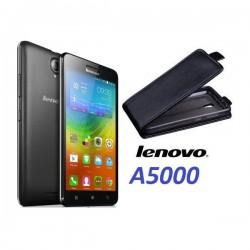 "Preklopna Torbica ""flexi"" za Lenovo A5000, Črna barva"