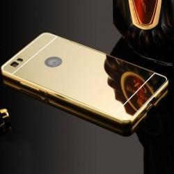 "Etui ""Alu"" za Huawei P8 Lite, Zlata barva"