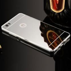"Etui ""Alu"" za Huawei P8 Lite, Srebrna barva"