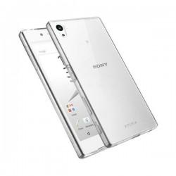 Silikonski etui za Sony Xperia Z5 Premium, debeline 0,3mm, Prozorna barva +folija zaslona