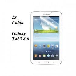 Zaščitna Folija ekrana za Samsung Galaxy Tab3 8.0 (T310,T311,T315), duo pack