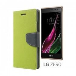 "Preklopna Torbica ""Fancy"" za LG Zero, Zelena barva"