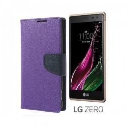 """Preklopna Torbica """"Fancy"""" za LG Zero, Vijola barva"""
