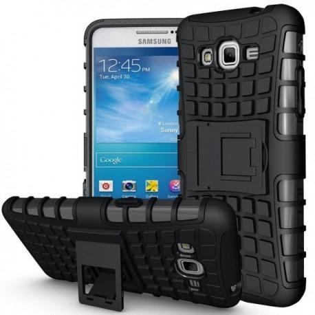 Etui Dual Armor za Samsung Galaxy Grand Prime, Črna barva
